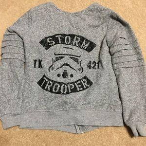STAR WARS 10/12 gray jacket STORM TROOPER Jacket